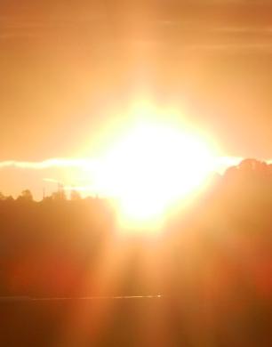 Lever de Soleil retour Forêt de Vibray-ConvertImage
