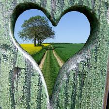 chemin coeur