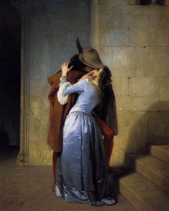 Francesco Hayez  -TheKiss     [1280x768]