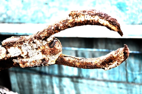 How Did The Anchor Become So Rusty?