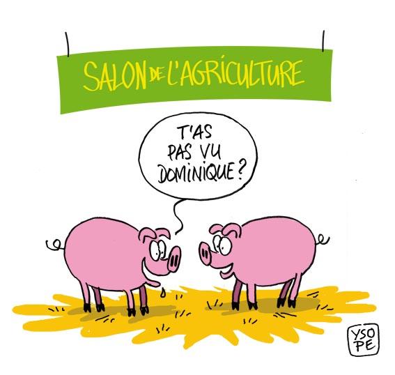 Dessins d humour sp cial salon de l agriculture ma tre for Salon agriculture adresse