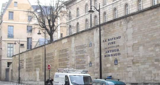 muurgedicht-Rimbaud-Parijs