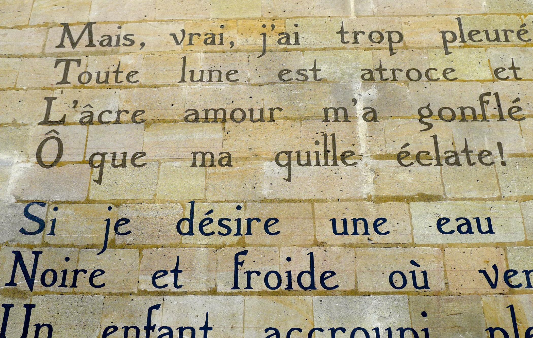 Poésie Le Bateau Ivre Darthur Rimbaud Maître Renard