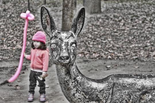 A Deer Little Girl