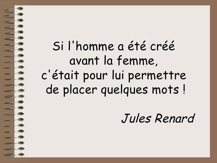 Citations Rapports Hommes Femmes Maitre Renard