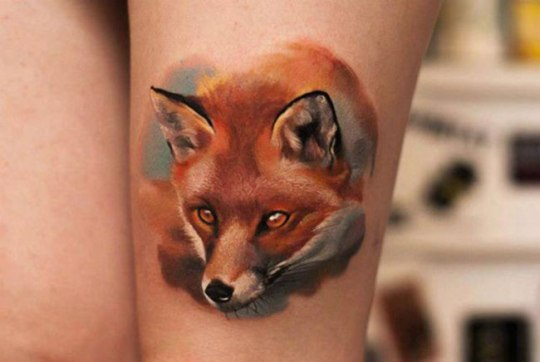 tattoo-aquarelle-renard