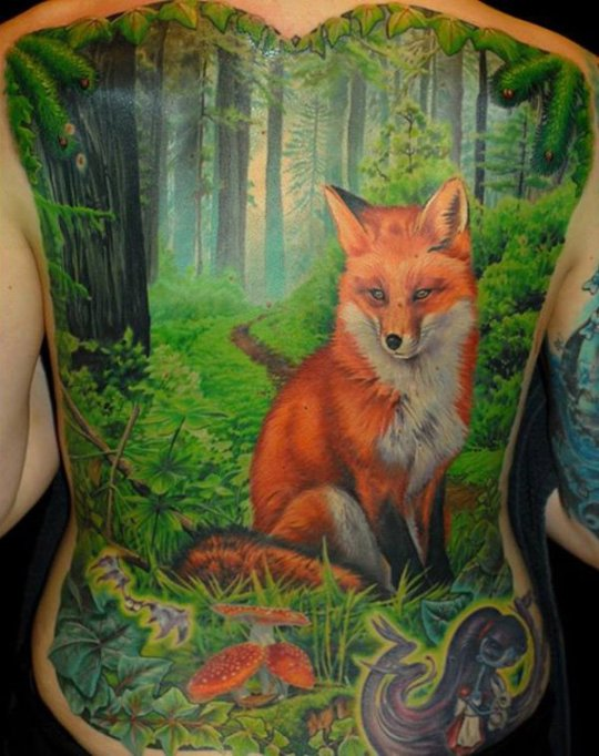 tattoo-dos-renard