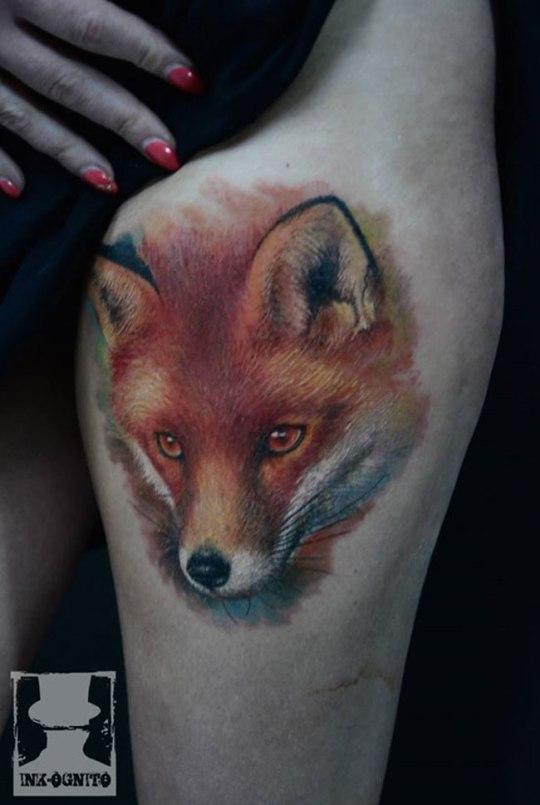 tattoo-femme-renard