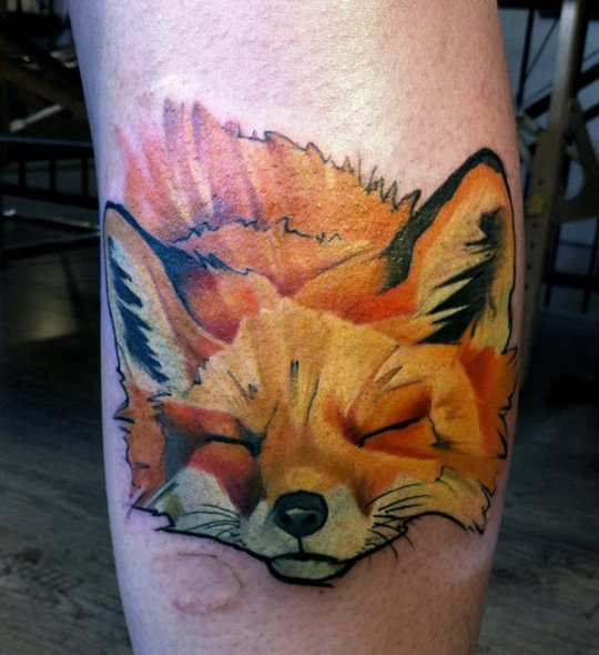tattoo-tete-renard