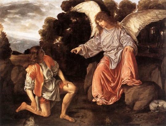 Saint Raphael et Tobie III
