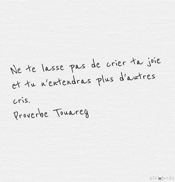 Citations Sur Le Désert Et Proverbes Touaregs Maître Renard