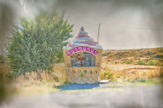The Stolen Ice Cream Van